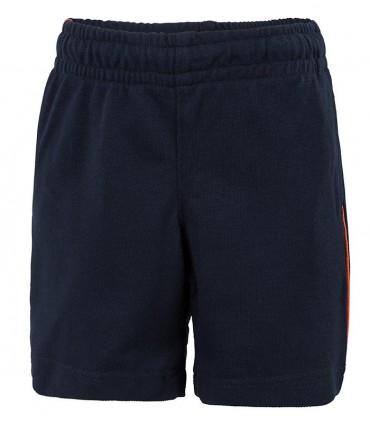 Pantalón Corto Deporte de Punto Marino y Naranja