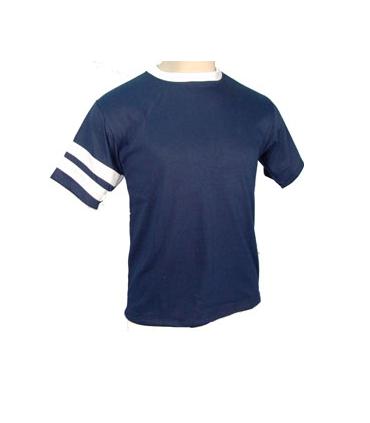 Camiseta Azul de Deporte