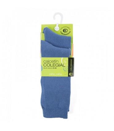 Calcetines hasta la rodilla azules (dos pares)