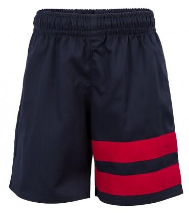 Pantalón Corto Deporte Marino y Rojo