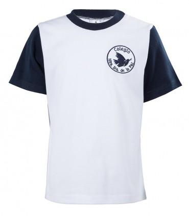 Camiseta Algodón Manga Corta Nuestra Señora de la Paz