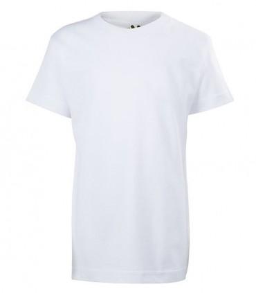Camiseta Algodón Manga Corta Blanca Roly